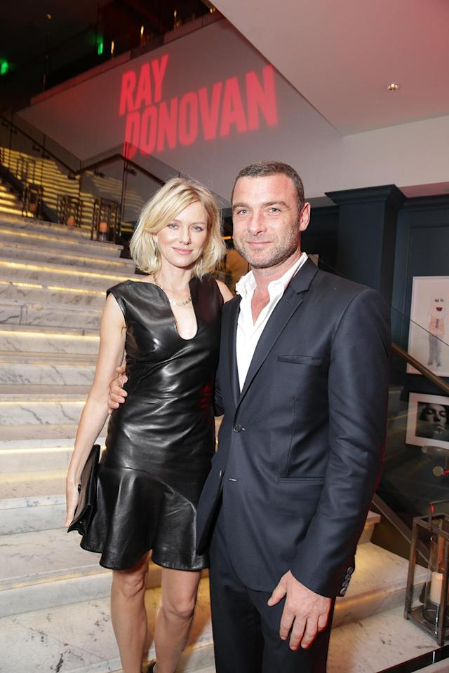 Naomi Watts and Liev at the Showtime premiere of the new drama series Ray Donovan presented by Time Warner Cable, on Tuesday, June, 25, 2013 in Los Angeles. (Photo by Eric Charbonneau/Invision for Showtime/AP Images)