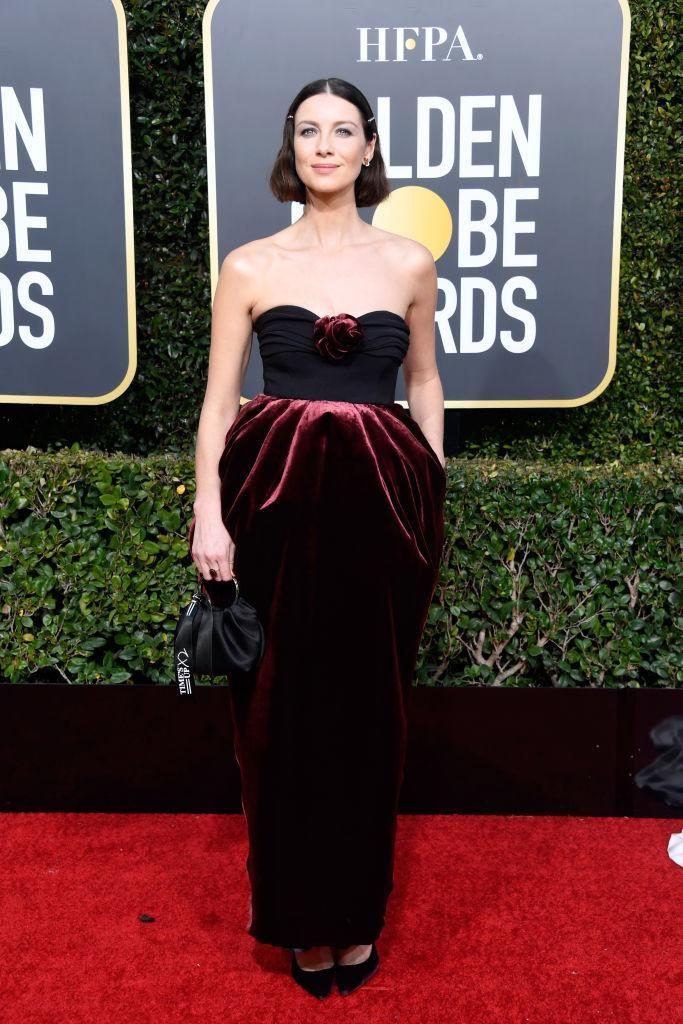 <p>Caitriona Balfe attends the 76th Annual Golden Globe Awards at the Beverly Hilton Hotel in Beverly Hills, Calif., on Jan. 6, 2019. (Photo: Getty Images) </p>