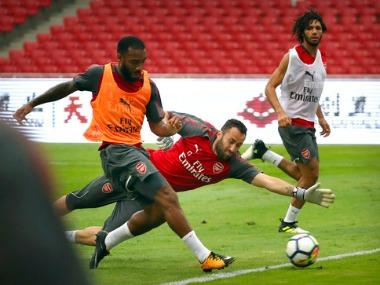 Alexandre Lacazette will make his first appearance in front of Arsenal's home crowd this weekend as the Gunners step up their pre-season preparations in the Emirates Cup.