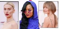 <p>The Oscars 2021 have arrived and we have the closest thing to a usual red carpet this season! </p><p>The Oscars have brought a whole host of celebrities working next level hair and make-up looks. From Maria Bakalova's old school Hollywood glamour updo and red lip to xxx these are the best beauty looks from this year's iconic red carpet.</p>