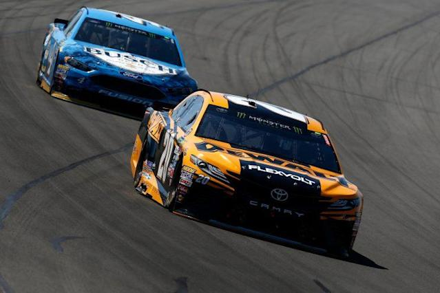Both Matt Kenseth and Kevin Harvick haven't won yet. (Getty)