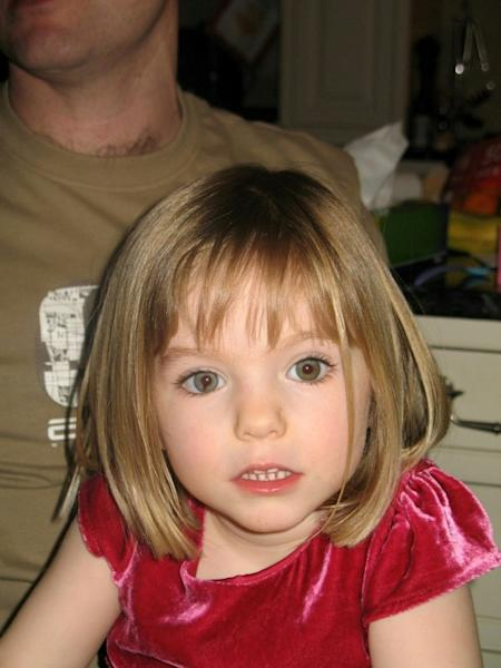 Madeleine went missing from her family's holiday apartment on May 3, 2007, a days before her fourth birthday, as her parents dined with friends at a nearby bar (AFP Photo/Handout)