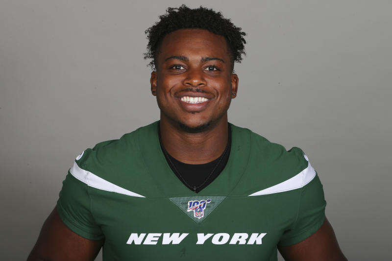 This is a 2019 photo of Brandon Copeland of the New York Jets NFL football team. This image reflects the New York Jets active roster as of Monday, June 3, 2019 when this image was taken. (AP Photo)