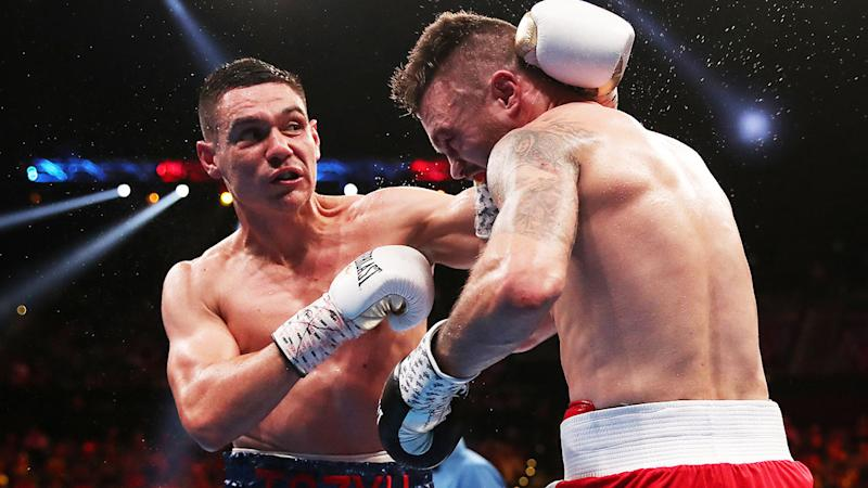 Tim Tszyu claimed a unanimous points win over Dwight Ritchie.