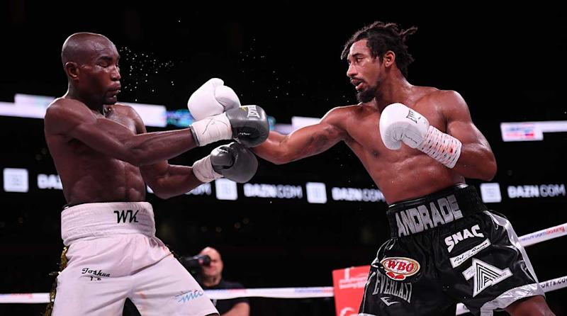 Demetrius Andrade Claims Middleweight Title With Unanimous Decision Over Walter Kautondokwa
