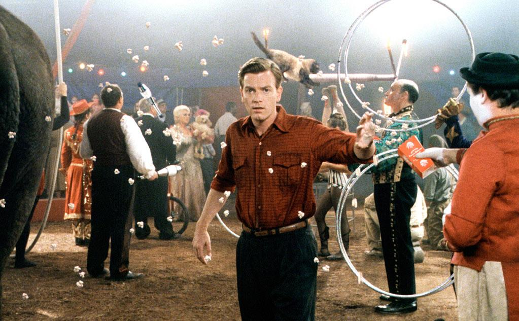 "'Big Fish' (2003): ""If Fellini had directed 'Forrest Gump.'"" That's how I described this movie when I reviewed it. Looking back, it seems like even more of a departure for Burton in that it's light and dreamlike, even hopeful. But as a fantastical tale, it absolutely makes sense within his oeuvre. He gets a little too carried away with the quirkiness of his characters, but his film is consistently dazzling, with some individual images that will take your breath away. And it features an excellent cast led by Ewan McGregor, Albert Finney, Jessica Lange and Alison Lohman. It's time for Burton to take more chances like this again."