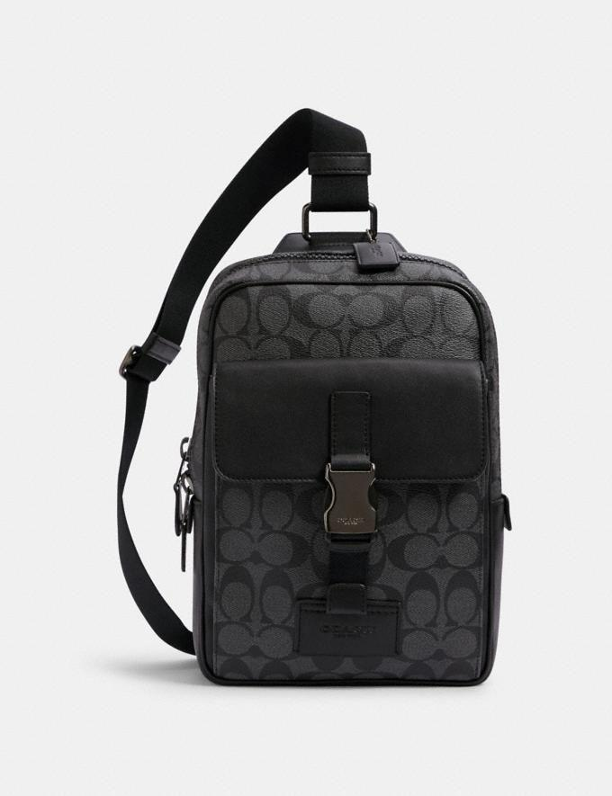 """<p><strong>Coach</strong></p><p>coachoutlet.com</p><p><strong>$62.30</strong></p><p><a href=""""https://go.redirectingat.com?id=74968X1596630&url=https%3A%2F%2Fwww.coachoutlet.com%2Fproducts%2Ftrack-pack-in-signature-canvas%2FC2711.html%3Fdwvar_color%3DQBMI5&sref=https%3A%2F%2Fwww.seventeen.com%2Flove%2Fdating-advice%2Fg30107520%2Fone-year-anniversary-gifts-for-him-boyfriend%2F"""" rel=""""nofollow noopener"""" target=""""_blank"""" data-ylk=""""slk:Shop Now"""" class=""""link rapid-noclick-resp"""">Shop Now</a></p><p>This mini bag is dripping in cool-guy swag.</p>"""