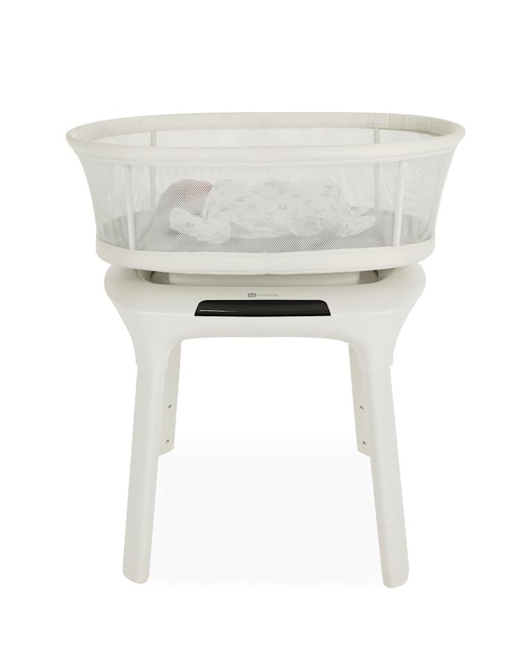 """<p>The mamaRoo Sleep Bassinet was developed after hearing parent feedback that though the mamaRoo is a godsend, its angled seat was a no-no for sleeping. The mamaRoo Sleep Bassinet has a flat, firm mattress, breathable mesh sides, and an adjustable height for optimal visibility and accessibility, all of which follows the <a href=""""https://www.aap.org/en-us/advocacy-and-policy/aap-health-initiatives/healthy-child-care/Pages/Safe-Sleep.aspx"""" target=""""_blank"""" class=""""ga-track"""" data-ga-category=""""Related"""" data-ga-label=""""https://www.aap.org/en-us/advocacy-and-policy/aap-health-initiatives/healthy-child-care/Pages/Safe-Sleep.aspx"""" data-ga-action=""""In-Line Links"""">American Association of Pediatrics (AAP) Safe Sleep Guidelines</a>.</p>"""