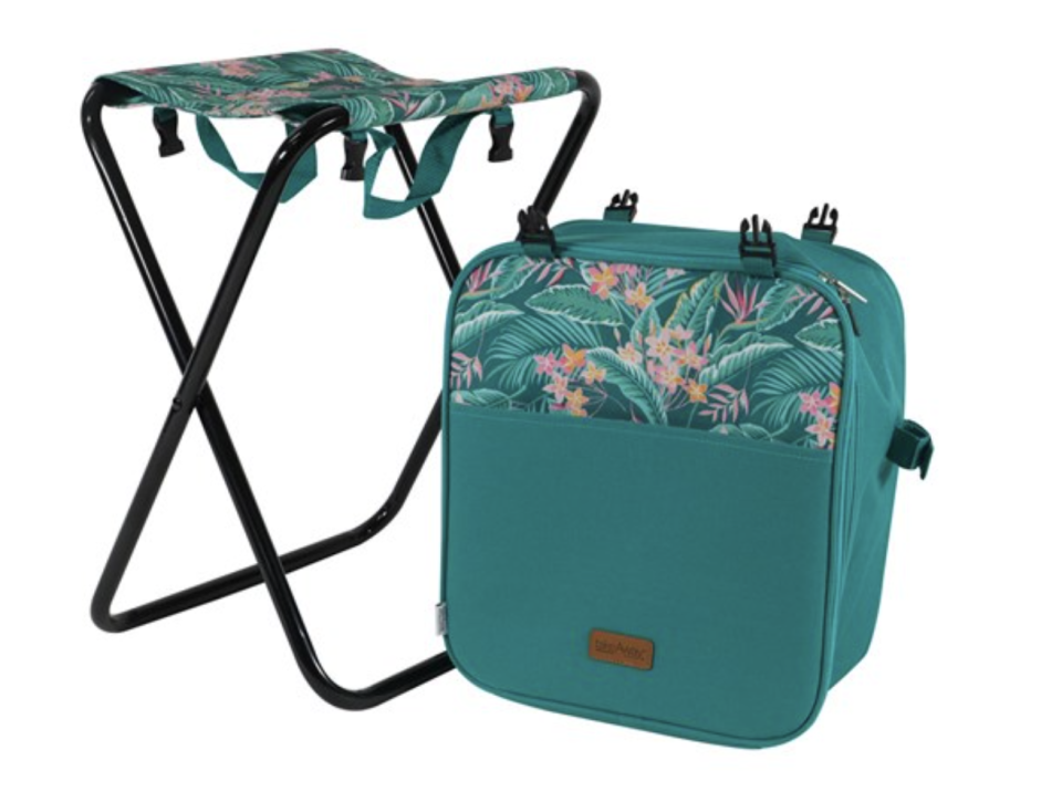 TakeAway Picnic 3-in-1 Cooler Chair Jungle, $39.99