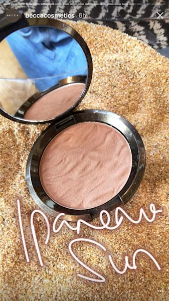 The new Becca Cosmetics Sunlit Bronzer launches next month with five beach-inspired shades for every skin tone.