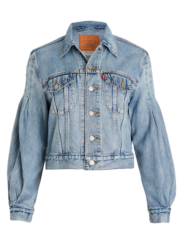 "It's not a regular trucker jacket, it's a cool trucker jacket, thanks to the roomy sleeve action that's usually reserved for blouses and prairie dresses. $98, Shopbop. <a href=""https://www.shopbop.com/full-sleeve-trucker-jacket-levis/vp/v=1/1541278149.htm"" rel=""nofollow noopener"" target=""_blank"" data-ylk=""slk:Get it now!"" class=""link rapid-noclick-resp"">Get it now!</a>"