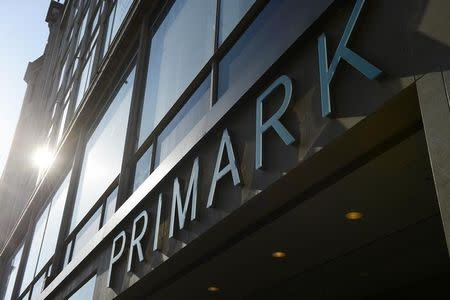 A Primark clothing shop is seen in central London, April 25, 2013. REUTERS/ Paul Hackett