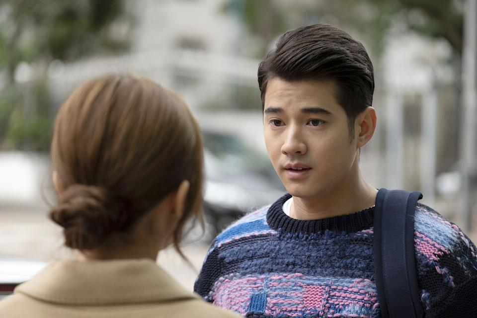 Mario Maurer as Marvel, the love rival of Adam in 77 Heartwarmings. (Photo: Golden Village Pictures)