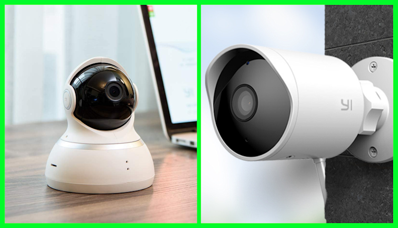 Keep tabs on your home and property from wherever you are with Yi security cameras. (Photo: Amazon)