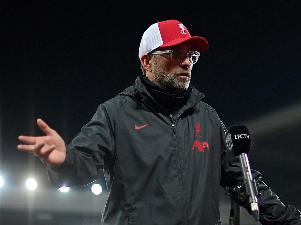Jurgen Klopp took exception to some post-match criticism from Roy Keane (POOL/AFP via Getty Images)