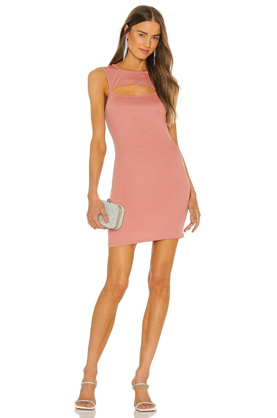 <p>We're in love with minidresses and this <span>Michael Costello x REVOLVE Catherine Mini Dress in Rose Pink</span> ($58, originally $168) is a keeper. The rosy pink hue with the sexy cut-out is such a vibe. </p>