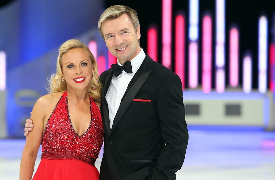 Dancing on Ice stars Jayne Torvill and Christopher Dean during a photocall for the Dancing on Ice The Final Tour held at the Phones4u Arena, Manchester.
