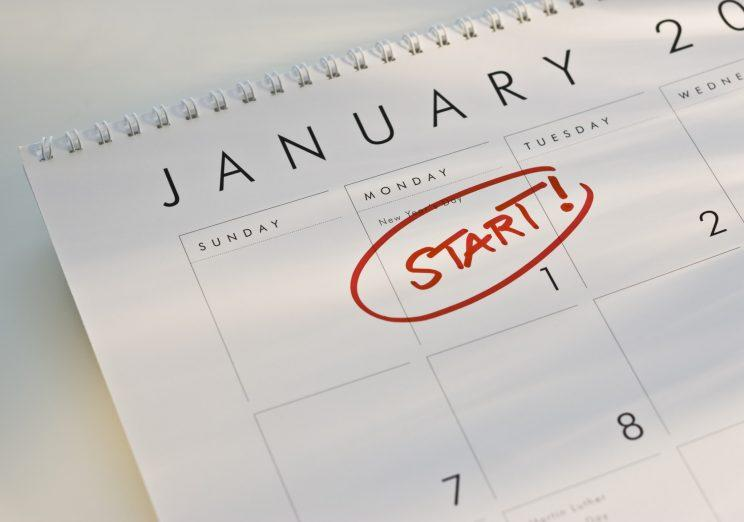 Resolutions already starting to slip down the to-do list? [Photo: Getty]