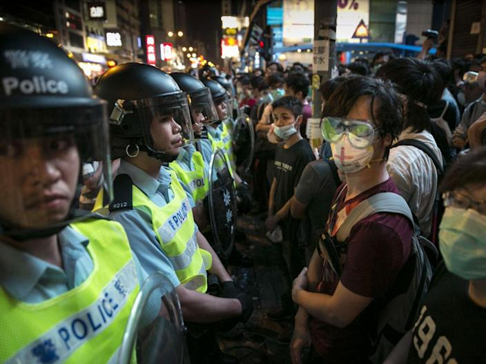 The 64-year-old has now revealed she was detained in the border city of Shenzhen in mainland China last August where she was allegedly mentally abused and made to disavow her activism in writing