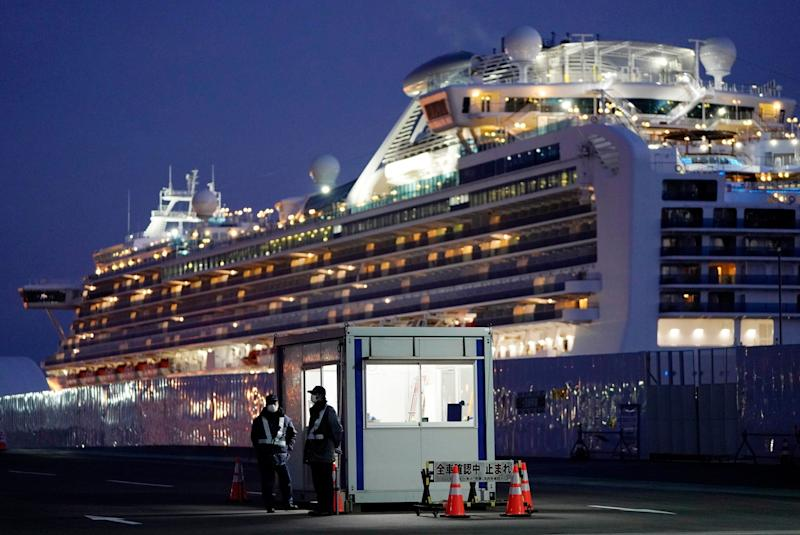 Diamond Princess (Photo: ANSA)