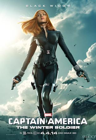 Scarlett Johasson in 'Captain America: The Winter Soldier' (Marvel Studios)
