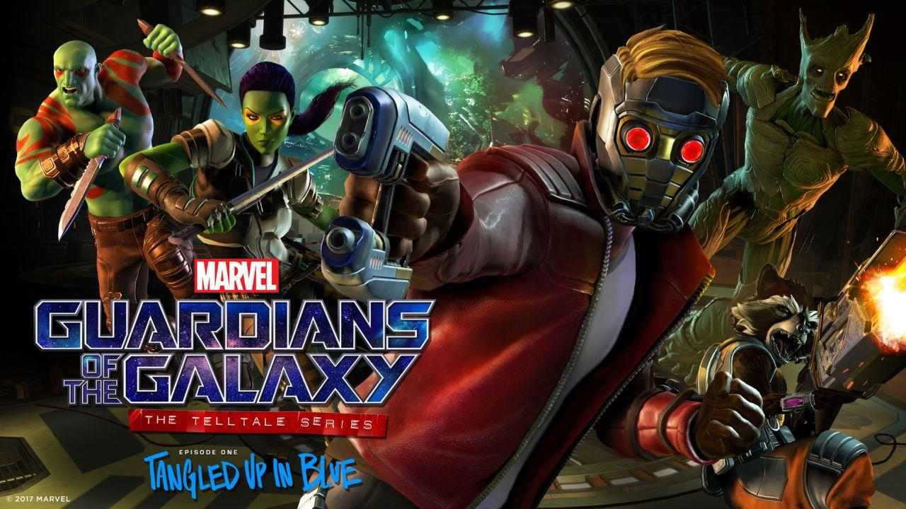 "Fast-talking Star Lord gets the gang back together for ""Guardians of the Galaxy: The Telltale Series - Episode 1."""