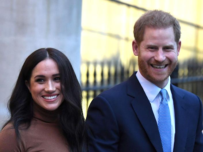 Prince Harry and Meghan Markle (Getty Images)