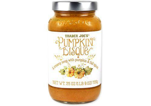 <p>This decadent soup is thick, rich, and creamy. <strong>Made with pumpkin puree and heavy cream, </strong>the soup also recruits tahini for a delicious flavor depth and creaminess. We love the perfect pairing of Fall spices in here to boot.</p>