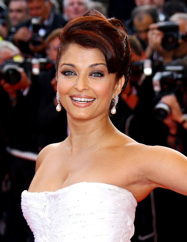 "Simply put, Bollywood star and former Miss World Aishwarya Rai is ridiculously ravishing. Mike Marsland/<a href=""http://www.wireimage.com"" target=""new"">WireImage.com</a> - May 13, 2009"