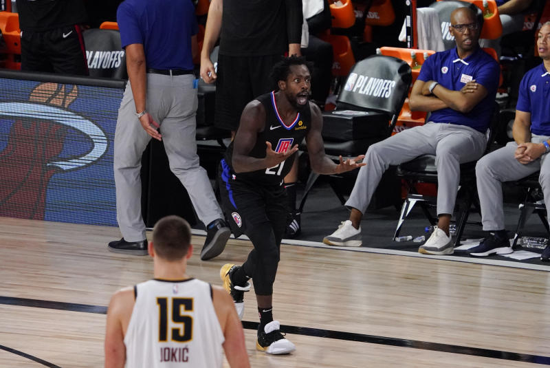 Los Angeles Clippers' Patrick Beverley