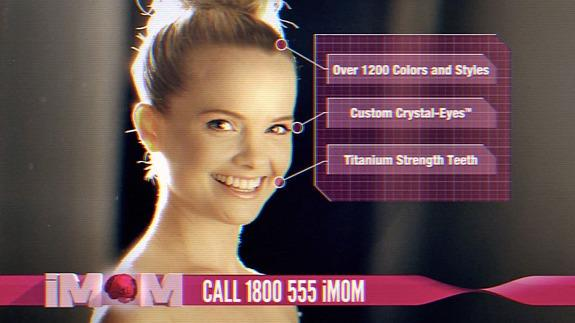 graphic relating to Imom named iMom is the best robotic nanny, unless of course she malfunctions