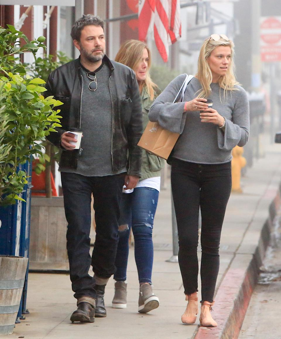 Affleck split from girlfriend, 38-year-old Lindsay Shookus, after a year of dating. Image via Getty Images.