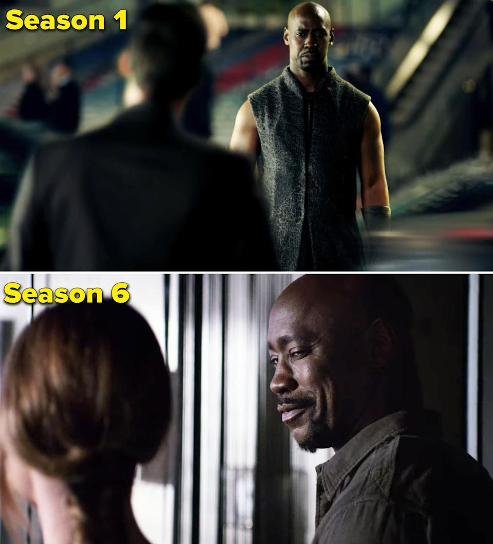 D.B. was cast as Amenadiel on Luciferin 2016 and went on to star in 93 episodes of the series. During Season 6, D.B. also directed the episode