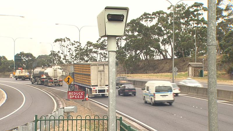 Freeway speed cameras catch 10,000 drivers in six months