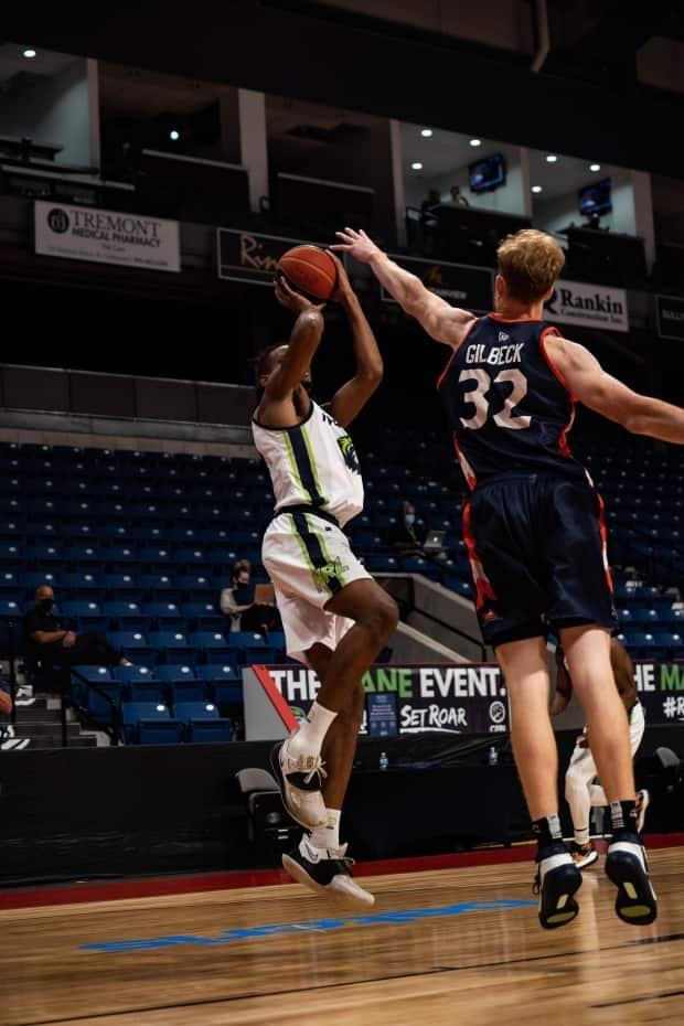 The Niagara River Lions scored 37 points in the third quarter during a win over the Fraser Valley Bandits on Thursday, the most by a team in a single quarter in the current CEBL season. (Courtesy of CEBL - image credit)