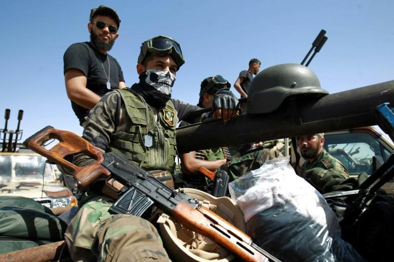 Khalifa Haftar's forces battled for more than a year to seize the capital Tripoli