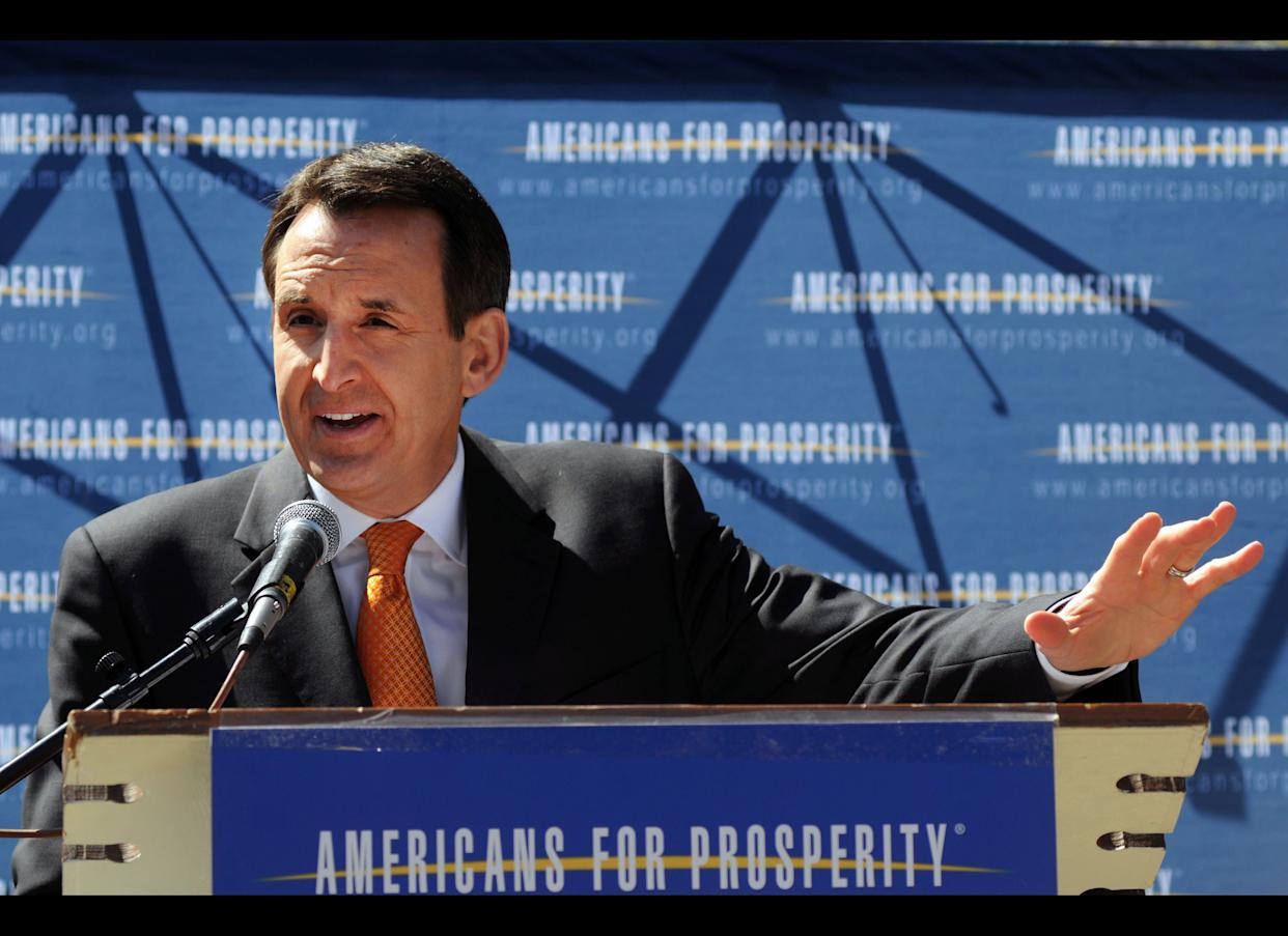 """The former Minnesota governor <a href=""""http://www.radioiowa.com/2011/04/01/pawlenty-calls-obama-foreign-policy-incoherent-dangerous-audio/"""" rel=""""nofollow noopener"""" target=""""_blank"""" data-ylk=""""slk:recently panned"""" class=""""link rapid-noclick-resp"""">recently panned</a> President Obama's foreign policy as """"incoherent"""" and """"dangerous,"""" pointing to the way the U.S. handled the crisis in Egypt and the Obama Administration's decision to junk the anti-missile defense systems planned for Poland and the Czech Republic. He has <a href=""""http://blogs.wsj.com/washwire/2011/03/29/pawlenty-u-s-should-take-on-syrias-assad/"""" rel=""""nofollow noopener"""" target=""""_blank"""" data-ylk=""""slk:urged"""" class=""""link rapid-noclick-resp"""">urged</a> Obama to take punitive action against Syrian President Bashar al-Assad."""