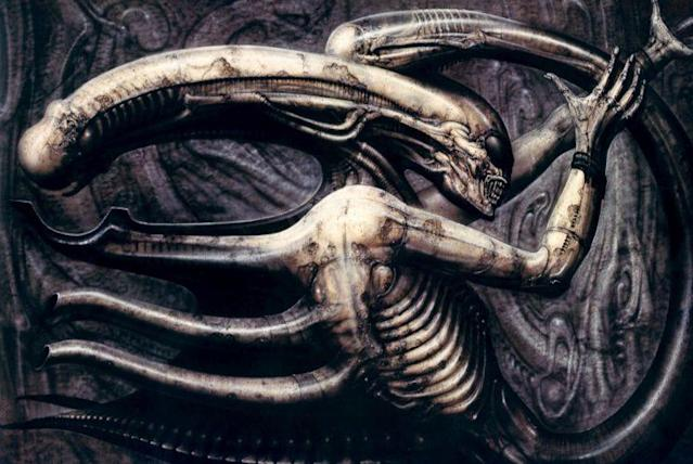 "Painting that inspired ""Alien."" (Photo: H.R. Giger)"