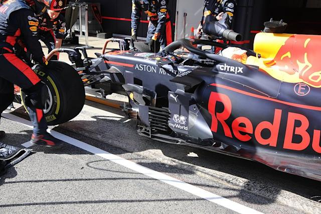 "Lateral del Red Bull Racing RB16 <span class=""copyright"">Giorgio Piola</span>"
