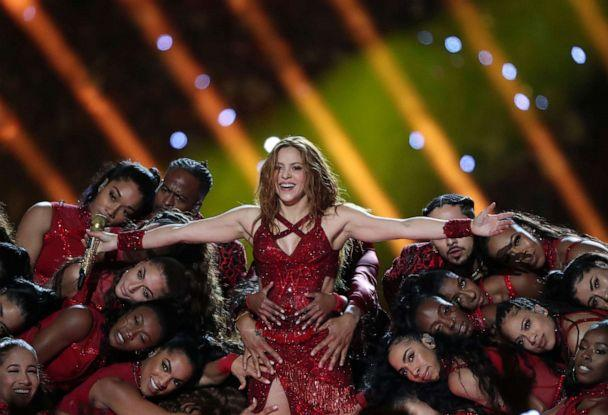 PHOTO: Shakira performs during the halftime show at Super Bowl LIV in Miami, Feb. 2, 2020. (Shannon Stapleton/Reuters)
