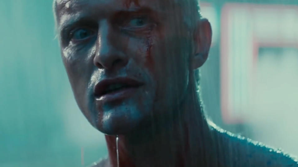 His final scene in <em>Blade Runner</em> features the iconic 'tears in rain' speech and he also appeared in films by Paul Verhoeven and Christopher Nolan. He died on 19 July. (Credit: Warner Bros)