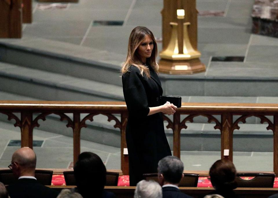 First Lady Melania Trump (Photo: Brett Coomer – Pool/Getty Images)