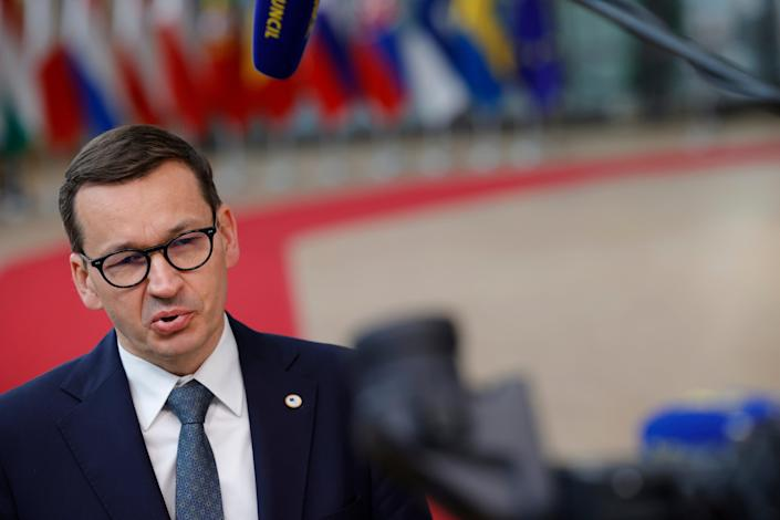 Poland EU (Copyright 2021 The Associated Press. All rights reserved)