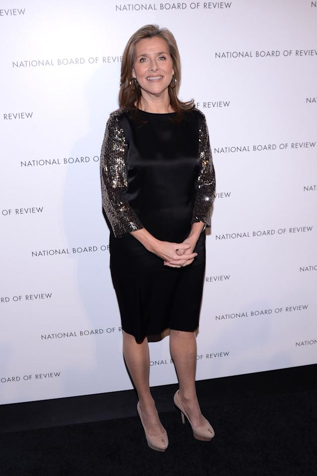 NEW YORK, NY - JANUARY 08:  Meredith Vieira attends the 2013 National Board Of Review Awards Gala at Cipriani 42nd Street on January 8, 2013 in New York City.  (Photo by Stephen Lovekin/Getty Images)