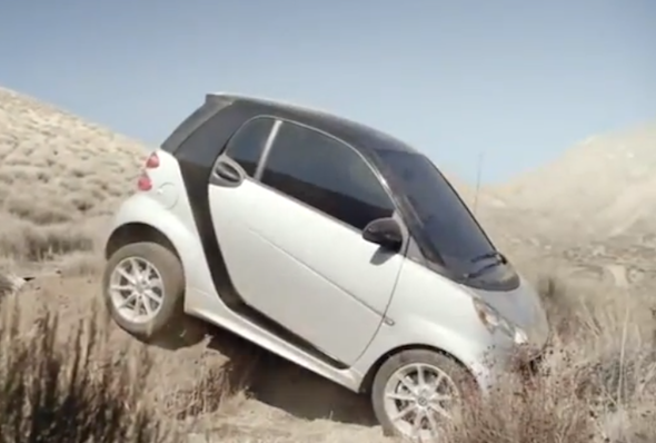 Brilliantly honest Smart ForTwo advert proves its no good off-road