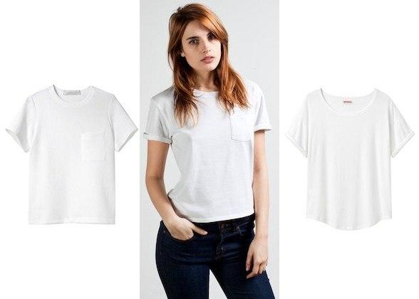 """<div class=""""caption-credit""""> Photo by: Courtesy of Retailers</div><div class=""""caption-title""""></div><b>3. A Boxy White T-Shirt</b> <br> The structured shape looks a little more polished than floppy, lengthier styles, and its hip-hitting hem means no tucking! Because isn't adjusting bunchy fabric all day the worst? <i>BOXY POCKET T-SHIRT, $525, lagarconne.com; The Box Cut Tee, $15, everlane.com; ROLL SLEEVE TEE, $78, Organic by John Patrick, lagarconne.com <br></i> <b>More from <i>Lucky</i>:</b> <br> <b><a rel=""""nofollow"""" target="""""""" href=""""http://www.luckymag.com/beauty/2011/12/40-Drugstore-Classics?mbid=synd_yshine"""">The 40 Best Drugstore Beauty Products</a> <br> <a rel=""""nofollow"""" target="""""""" href=""""http://www.luckymag.com/blogs/luckyrightnow/2012/09/50-Unique-Engagement-Rings?mbid=synd_yshine"""">50 Unique Engagement Rings</a></b> <br>"""