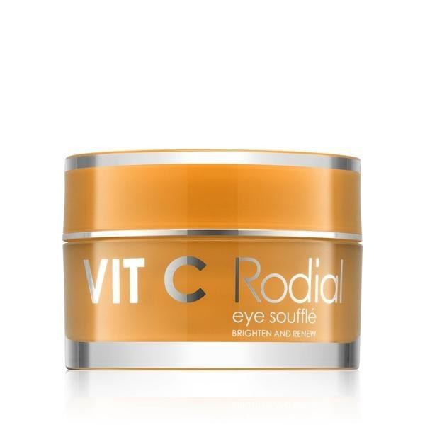 <p>If you want to brighten the undereye area while you depuff, the <span>Rodial Vit C Face Souffle</span> ($105) is packed with two percent vitamin C to help you do so.</p>