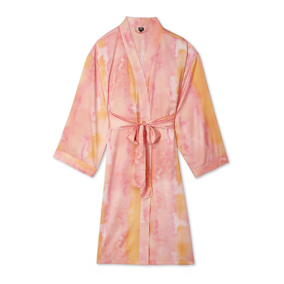 """<p>Everyone's favorite Instagram follow has created a gorgeous line of <a href=""""https://cravingsbychrissyteigen.com/tie-dye-for-sunset-robe/"""" rel=""""nofollow noopener"""" target=""""_blank"""" data-ylk=""""slk:super silky robes"""" class=""""link rapid-noclick-resp"""">super silky robes</a> so mom can lounge at home and look just as fab as <a href=""""https://ew.com/tag/chrissy-teigen/"""" rel=""""nofollow noopener"""" target=""""_blank"""" data-ylk=""""slk:Chrissy Teigen"""" class=""""link rapid-noclick-resp"""">Chrissy Teigen</a>. Not only are these size-inclusive robes beautiful and comfy, but they have smart touches, like buttons on the sleeves and a sewn-in belt for easy tying. Unfortunately, the robes are so popular that they have already sold out, but you can still order and join the waitlist!</p> <p><strong>$88, <a href=""""https://cravingsbychrissyteigen.com/tie-dye-for-sunset-robe/"""" rel=""""nofollow noopener"""" target=""""_blank"""" data-ylk=""""slk:cravingsbychrissyteigen.com"""" class=""""link rapid-noclick-resp"""">cravingsbychrissyteigen.com</a></strong></p>"""