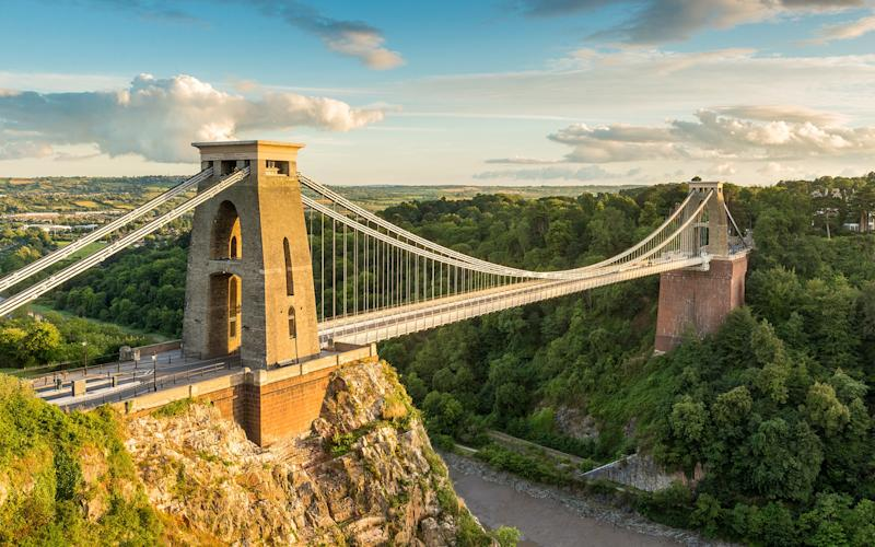 This spectacular view of the Clifton Suspension Bridge is not to be missed - Chris Hepburn