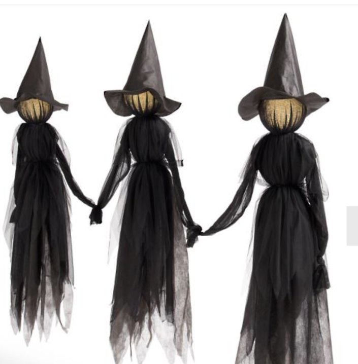 Witch Outdoor Halloween Decor